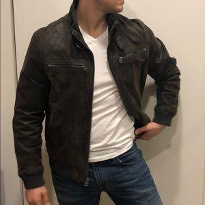 LEVI Large brown LEATHER jacket 🧥